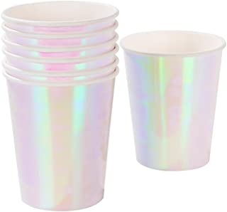 Talking Tables PASTEL IR Pack of 12-9oz Premium Paper Cups-Ideal Partyware Supplies for Kids Unicorn or Girls Princess The...