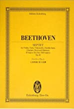 Hey Len Petersburg score Beethoven Septet in E flat major Op.20 (Eulenburg score) (2009) ISBN: 4118940043 [Japanese Import]