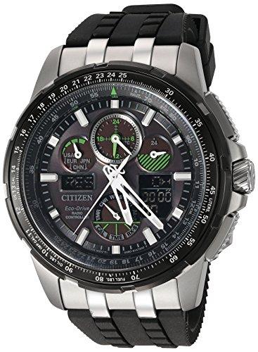 Citizen Eco-drive negro Skyhawk A-T–Reloj para hombres