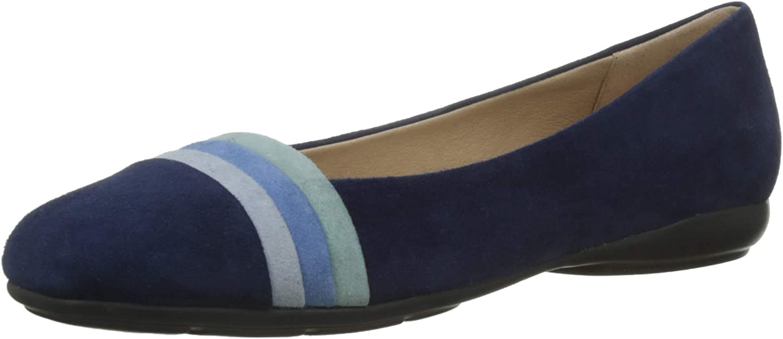 Geox Women's Annytah A Suede Ballerina shoes