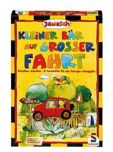 Schmidt Spiele 53041 - Janosch - Kleiner Bär auf großer Fahrt