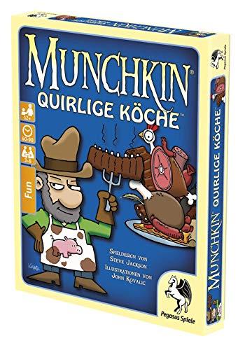 Pegasus Spiele 17019G - Munchkin: Quirlige Köche