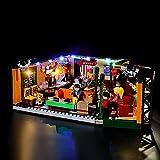 LED Light Kit for Lego Friends Central Perk, USB Powered DIY Light Set for Lego Ideas Series 21319 (Lights Kit Only Without Building Block Model)