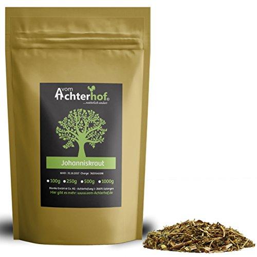 1 kg Johanniskraut geschnitten Johanniskraut-Tee Kräutertee natürlich vom-Achterhof