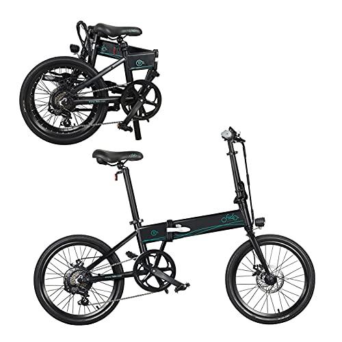 Bicicleta eléctrica de 20 pulgadas, plegable, 36 V, 250 W, pantalla LCD...