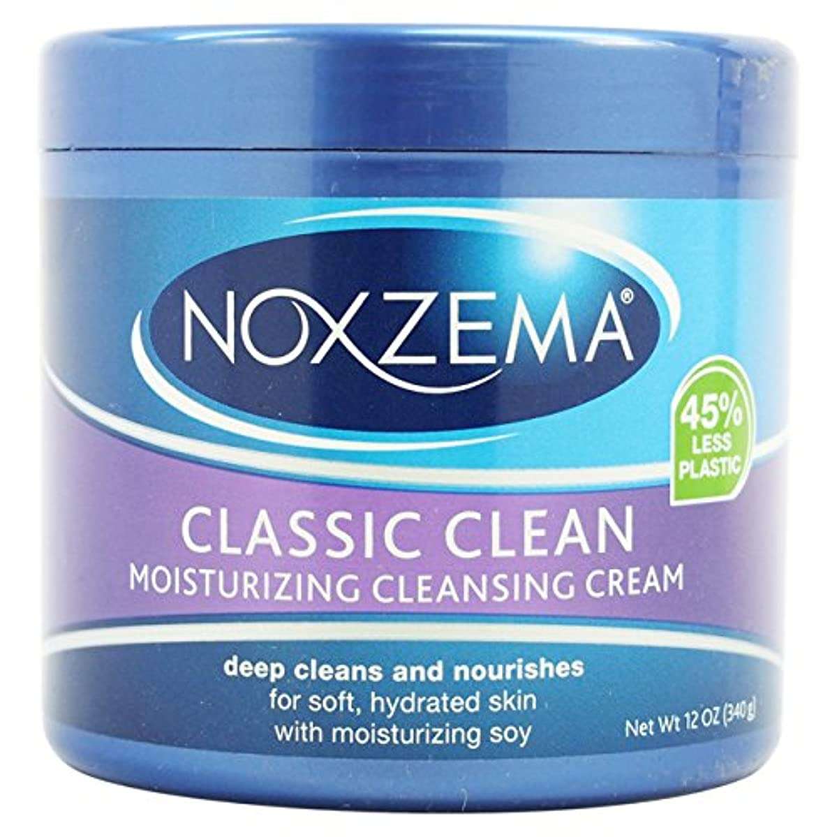連鎖除去ガードNoxzema ユニセックスディープクレンジングクリームプラスモイス12オズ