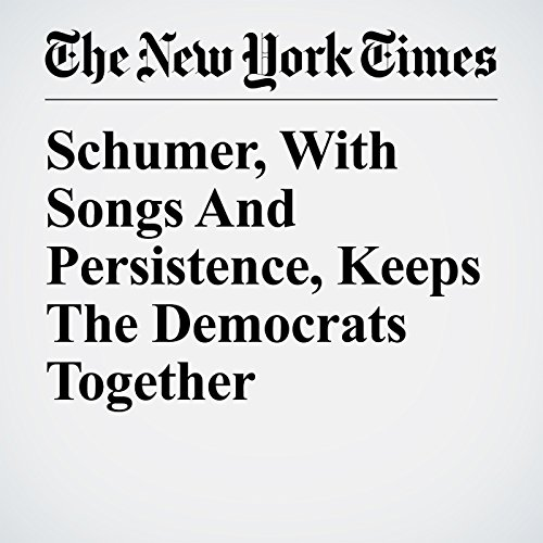 Schumer, With Songs And Persistence, Keeps The Democrats Together copertina