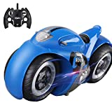 Dollox Remote Control Motorcycle Toy 2.4Ghz 1/12 RC High Speed Cross Country Motorbike, Spinning Drift Stunt Racing Vehicle Toy with Lights and Sound for Boys and Girls Kids