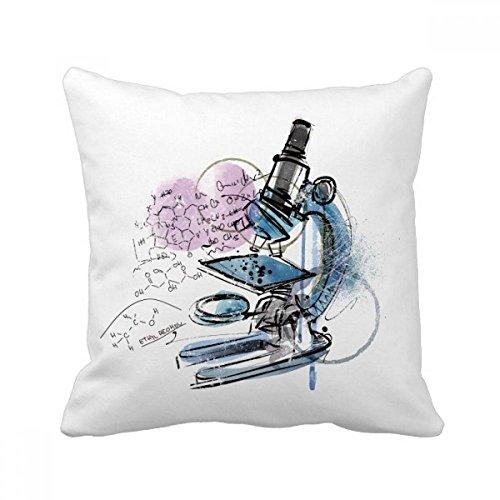 DIYthinker Chemistry Kowledge Microscope Throw Pillow Sleeping Sofa Cushion Cover