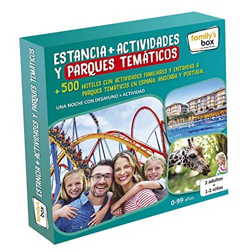 Cofre DE EXPERIENCIAS Estancia + Actividades Y Parques TEMÁTICOS - Más de 500 hoteles con Actividades Familiares y entradas a Parques temáticos en España, Andorra y Portugal
