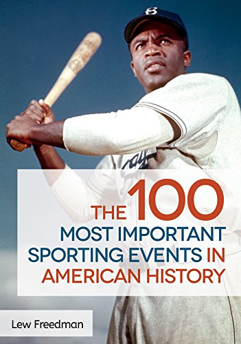 The 100 Most Important Sporting Events in American History (English Edition)
