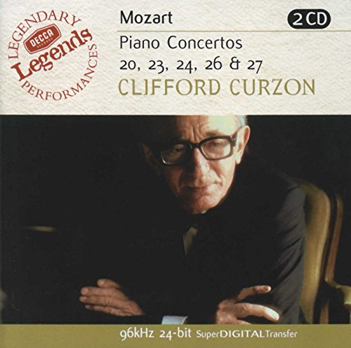 Piano Concertos 20 23 24 26 27: Decca Legends