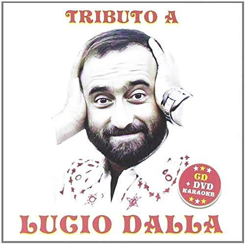 Tributo Lucio Dalla CD + DVD Basi Karaoke, Piazza Grande, Caruso, Attenti al Lupo, Canzone…