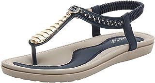045d6b3e5f899c Oliviavane Sandales Compensées Femmes Strass Plates Claquettes Sexy Bride  Modal Fashion Cheville Sandals Sandals Strass Sport
