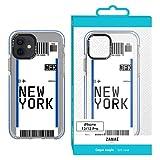 Carcasa para iPhone 12/12PRO – Billet de avión – Ibiza (Nueva York)