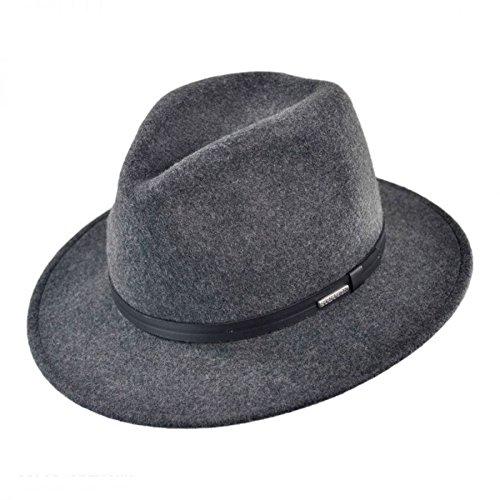 d21e31919be Stetson Men s Explorer Wool Felt Fedora - Twexpr-042453