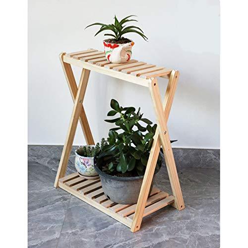 Suministros de jardinería, soporte de flores simple, soporte de flores interior de piso de varias capas, estante de decoración de jardín(Color:E)