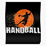 Zaldini Idea Womens Player Handball Sports Team Ball Coach