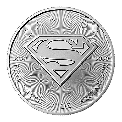Royal Canadian Mint 1 OZ Silber Silver Münze 1 Unze - Maple Leaf Superman 2016