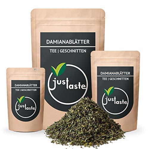 GRÖßENAUSWAHL Damianablätter | Damiana Tee geschnitten | Räucherwerk | justaste | Scutellaria lateriflora | räuchern