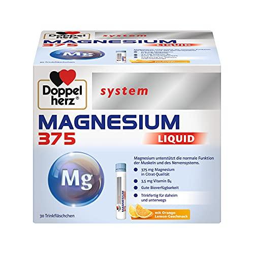 Doppelherz system Magnesium 375 Liquid Trinkfläschchen, 30 St. Flaschen