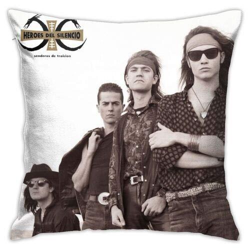 Héroes del silencio - Fundas de almohada decorativas para todas las estaciones, agradables al tacto y suaves almohadas de lujo para espalda, estómago o dormir de lado