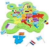 Imagimake: Mapology Europe with Capitals- Learn European Countries Along with Their Capitals - Educational Toy for Kids Above 5 Years
