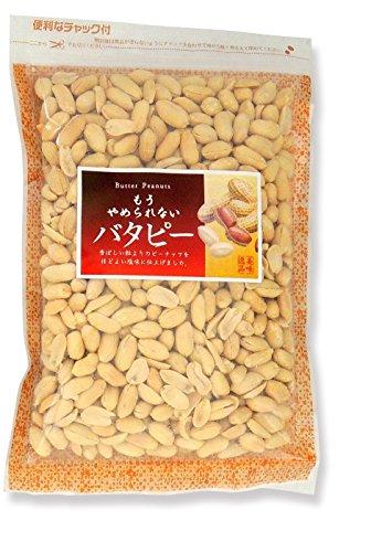 千成商会 やめられないバタピー 500g×2袋(1Kg)チャック付き袋ピーナッツ