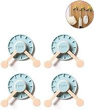 Yumira Creative Clock-vormige garderobehaken, kledinghaken, wandhaken, jashaken, handdoekhouder, badjashaken, waterdicht, ...