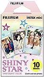 Fujifilm Instax Mini Instant Film - Shiny Star - 10 Blatt