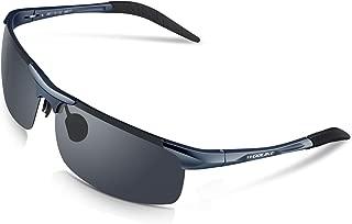Sports Sunglasses Men's Style Polarized Sunglasses for Cycling Running Fishing Golf Baseball Unbreakable Al-Mg Metal Frame Glasses WL-819