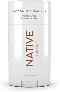 Native Deodorant - Natural Deodorant Made without Aluminum & Parabens - Coconut & Vanilla