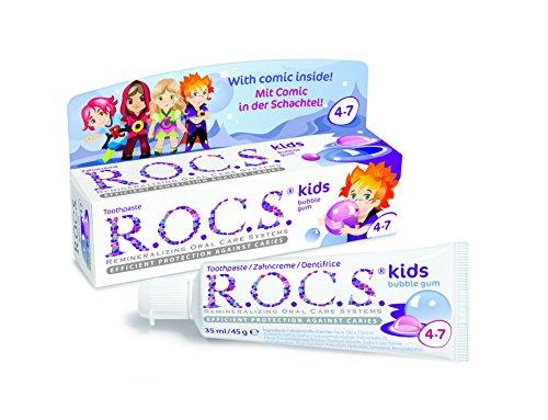 ROCS Kinder Bubble Gum Zahnpasta 45 g
