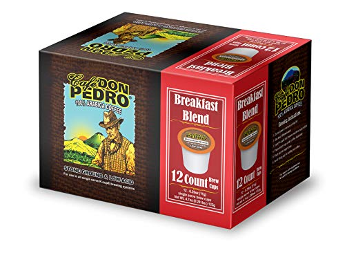 Cafe Don Pedro - 72 ct. Breakfast Blend Arabica Low Acid Coffee Pods
