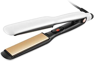 MYXMY Straight Hair Curling Dual-use Buckle Artifact Straightening Plate Clip Bangs Hair Straightener Does Not Hurt Hair C...