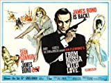 Poster 90 x 70 cm  James Bond 007  Liebesgrüße a