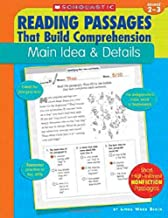 reading passages that build comprehension main idea & details