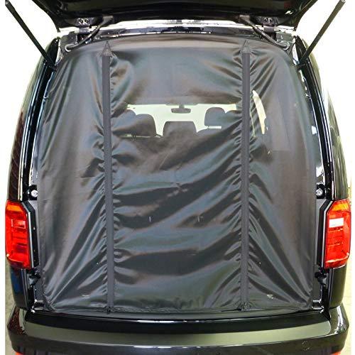 Reimo Tent Technology muggennet achterklep geschikt voor VW Caddy KR vanaf 2003, LR vanaf 2008 vliegengaas muggennet