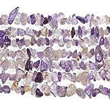 Lungo Fili 240+ Porpora/D'Oro Ametrino 5-8mm Chips Tagliato a Mano Perline GS3238 (Charming Beads)