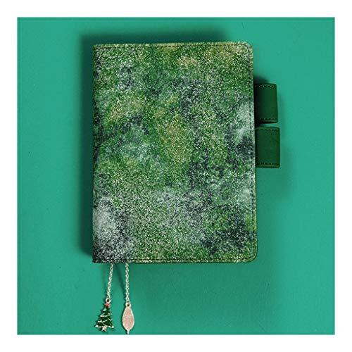 HMEI Oficina Cuaderno Libro Bloc de Notas, Enc 4x4 Gráfico Papel gobernado, 100 Hojas, 8.9'x6.5, por Better Office Products, Cubiertas en Color, Diseñado for el Recorrido Diario Regalo