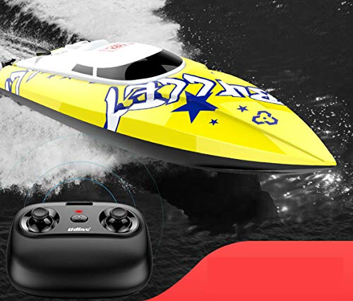 Star Remote Control Speedboat Remote Control Boat high Speed Speedboat Model top Speed 20KM/H Proportional Control Speed Children boy Electric Waterproof on The Flying Yacht Small Toy Boat Ship