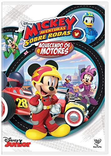 Mickey Aventuras Sobre Rodas. Aquecendo Os Motores [DVD]