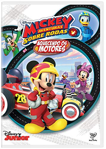 Mickey Aventuras Rodas Aquecendo Motores