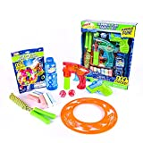 Sunny Days Entertainment Summer Fun Party Set - 114 Pieces Including Jump Rope, Bubble Blaster, 16oz Bubble Bottle, Squirt Gun, Water Balloons and More