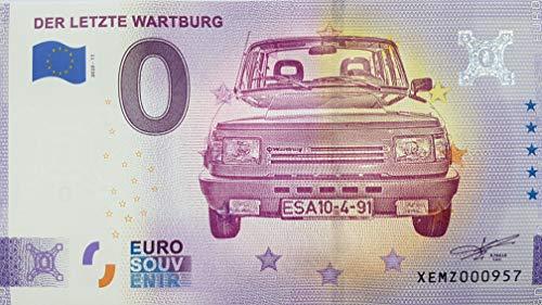 0-Euro-Schein Der letzte Wartburg...