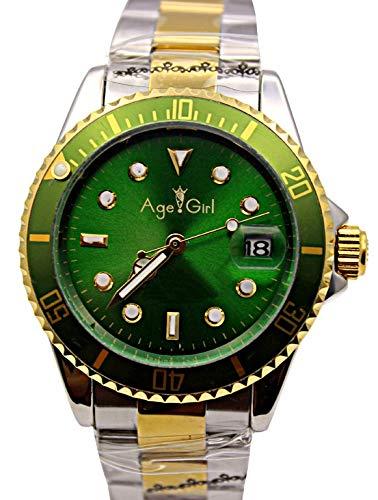 Luxury Mens Orologio Sub-Vento da Uomo Automatico Meccanico da Uomo Acciaio Inossidabile Dive Wristwatch Oro Nero Argento4