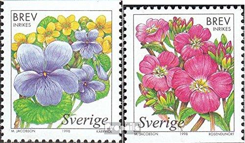 Zweden Mi.-Aantal.: 2060-2061 (compleet.Kwestie.) 1998 Moor (Postzegels voor verzamelaars) plant