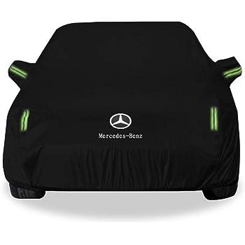 Pour Mercedes-Benz Version personnalis/ée avec housse de voiture ext/érieure LOGO Oxford en tissu Quatre saisons Universal Car Clothing Guajian soleil//neige//poussi/ère///éraflures chezhao