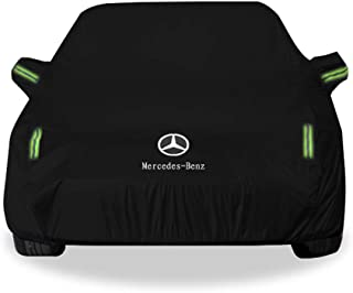 KTYXDE Car Cover SUV Thick Oxford Cloth Sun Protection Rain Warm Car Cover for Mercedes-Benz GLC Models Car Cover (Size : Oxford Cloth - Built-in lint)