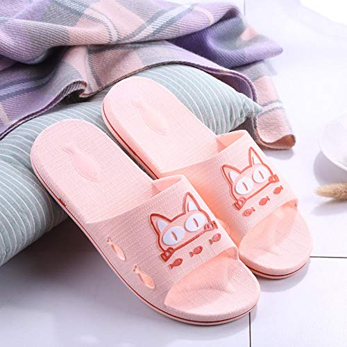 Nwarmsouth Zapatillas de Masaje Sandalias, Sandalias de Masaje de baño, Zapatillas de baño Antideslizantes-Pink_40-41, Zapatos de Playa y Piscina Unisex para Adultos